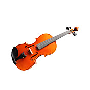 Violintine - (V32) 4/4 Professional-Grade Solid Spruce & 1-Piece Flame Maple Violin with Case/Bow