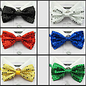 Sequins Detail Bow Tie