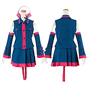 cosplay kostume inspireret af vocaloid utau Kasane Teto