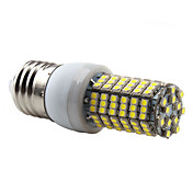 E27 138-3528 SMD 7W 350-450LM 6000-6500K Natural White Light LED Corn Bulb (220-240V)