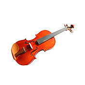 Violintine - (V27) 4/4 Professional-Grade Solid Spruce Violin with Case/Bow