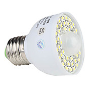 Infrared Sensor E27 3.5W 300LM 6000-6500K Natural White Light LED Spot Bulb (85-265V)