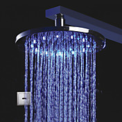 LED Chrome Automatische Kalten Touchless Sensor Dusche Wasserhahn