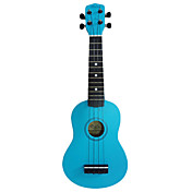 (Deep Blue) Mahogany Soprano Ukulele with Bag/String/Picks