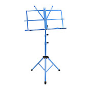 NG - (MS-BU) Blue Folding Portable Music Stand with Bag
