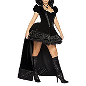Sexy Adult Womens Gothic Princess luxury Halloween Costume