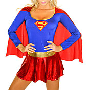 Superman Supergirl Adulto Donne sexy costume di Halloween (1 Pezzi)