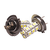H7 Car Light in einem Paar (5050, 3.6W, Lumen (LM) 270, Farbtemperatur 6000-6500K, 12V, mit 18 LEDs, White Light)