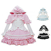 Little Witch Long Sleeve Blouse Knee-length Skirt Terylene Sweet Lolita Costume