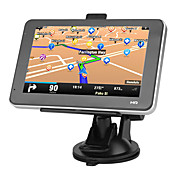 5 polegadas touchscreen carro GPS Navigator TF, USB, MP3, WMA, MP4, Ebook