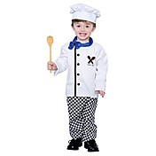 Child White Chef Costume (2-4 YRS)