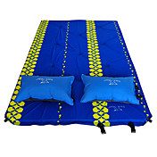 Camping Outdoor Waterproof Inflated Sponge Sleeping Mat 2 persons