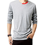 Men's Solid Color T-shirt