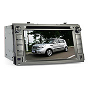 6,2 pulgadas de coches reproductor de DVD para KIA SOUL (Bluetooth, GPS, iPod, RDS, SD / USB, control del volante, pantalla tctil)