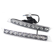 2 x 9 LED High Power Universal Daytime Running Light