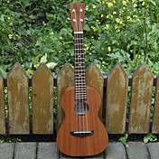 Koa Pili Koko - (Mhy-t) All-massief mahonie Tenor Ukulele met Bag / Strap