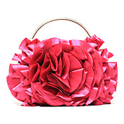 Elegant Polyester Ruffles Evening Handbag/Top Handle Bag(More Colors)