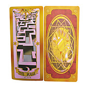 Cards Set Inspired by Cardcaptor Sakura Magical Mahou Clow (52 pieces)