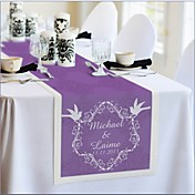 Personalized Reception Desk Table Runner - Pruple
