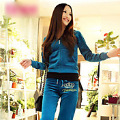 Women's Casual Hoodie Shirt Suit