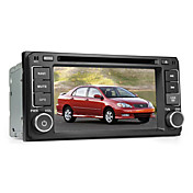 Pulgadas de coches reproductor de DVD para toyota 6.2 (bluetooth, GPS, iPod, RDS)
