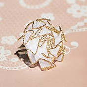 White Lace Flower Alloy Princess Lolita Ring