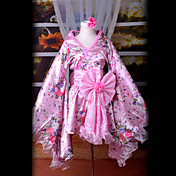 Cosplay Costume Inspired by Vocaloid Teto Pink VER. Kimono s