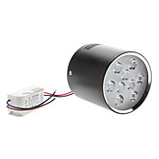 12W 1050-1150LM 3000-3500K chaud Shell Blanc Noir Lumire LED Down (85-265V)