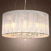 BURBANK - Lustre Moderne Cristal