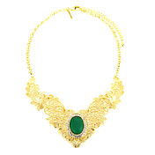 Elegant Alloy With Crystal Women's Necklace (More Colors)