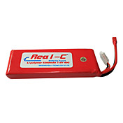 Real-C High Rate 5200mAh 7.4V 2S 40C Li-Polymer Battery