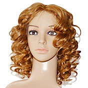 Full Lace 100% Indian Remy Hair Blonde Curly Wig