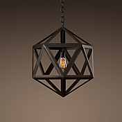 60W Iron Pendent Light with Painting Finish