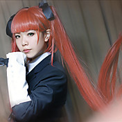 cosplay paryk inspireret af arcana Famiglia Felicita appelsin