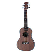 Nuts - (U-160C) Plywood Sapelle Concert Ukulele with Bag