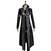 traje cosplay inspirado pela espada de arte online Kirito / kirigaya Kazuto
