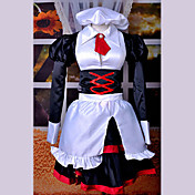 Cosplay Costume Inspired by When They Cry 3 Umineko no Nakukoroni Shannon Maid Suit