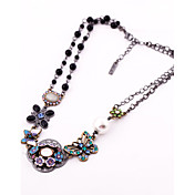 Women's Layered Butterfly Choker