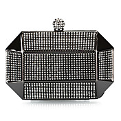 Metal con Encanto Crystal noche bolso / Embragues (ms colores)