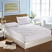 300TC Cotton Sateen With Cloud Quilting Mattress Pad