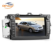 8 pulgadas 2DIN coches reproductor de DVD con GPS para el Corolla, TV, juegos, Bluetooth