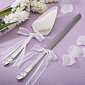 Graceful Heart Knife / Server Set