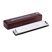 Huang - (133-1) Tremolo Thicken Harmonica 24 Toles/24 Tones