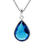 Stylish Alloy With Crystal Women's Necklace