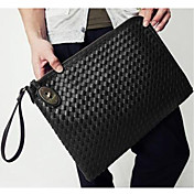 Unisex Casual Trendy PU Leather Clutch Bag(33*7*28CM)