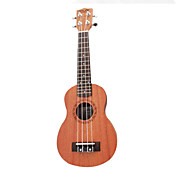 Nuts - (U-100S) Plywood  Soprano Ukulele with Bag