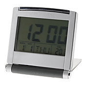 "flip-up 3 ""digitale wekker kalender thermometer (zilver, 2xAAA)"