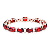 Gorgeous Alloy With Crystal/Cubic Zirconia Women's Bracelet