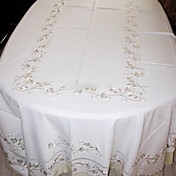 Polyester Cotton Blend Classic Table Cloths