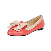 Leatherette Flat Heel Loafers &amp; Slip-ons With Bowknot Party / Evening Shoes (More Colors)